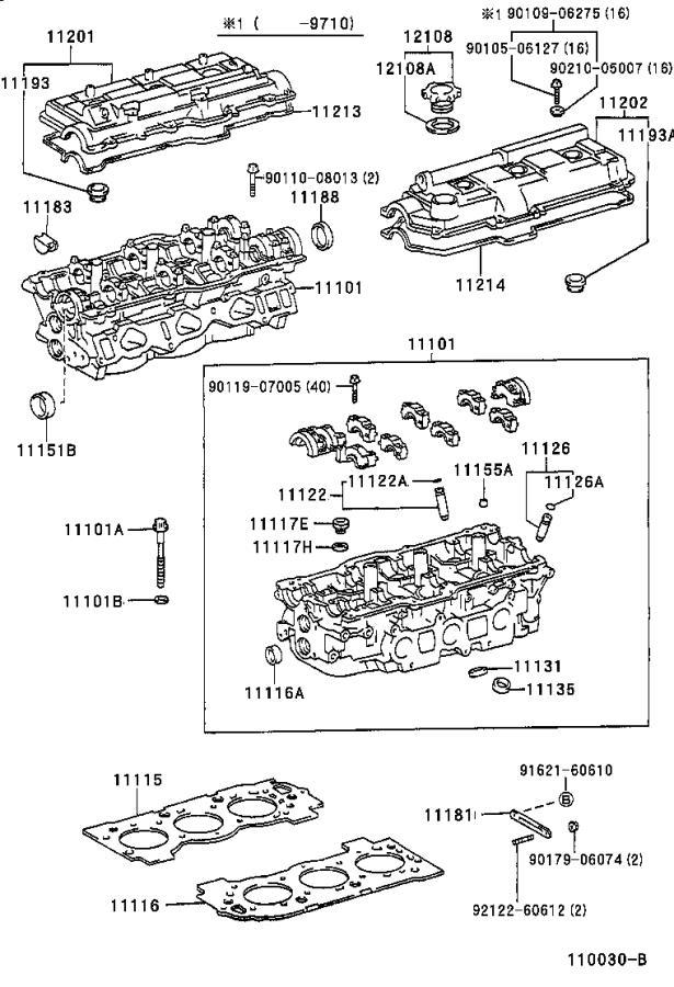 Toyota T100 Engine Camshaft Plug  Plug  Semicircular