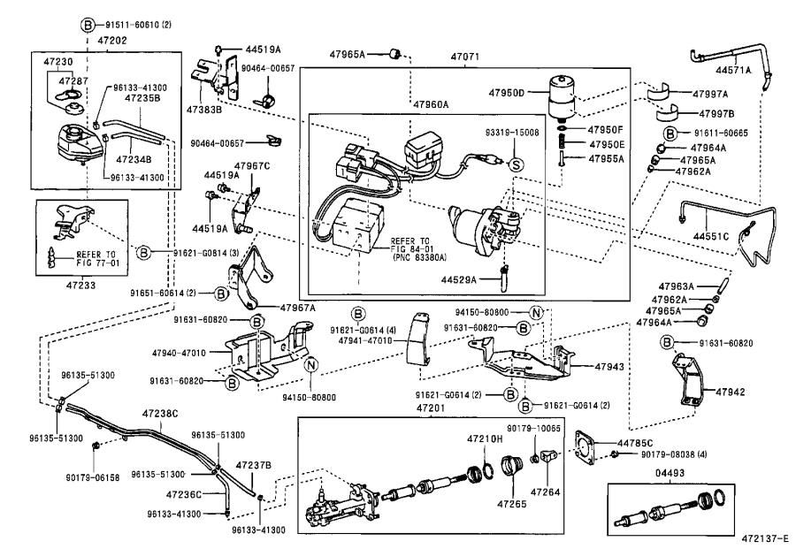 Toyota Prius Brake Master Cylinder Piston Cup