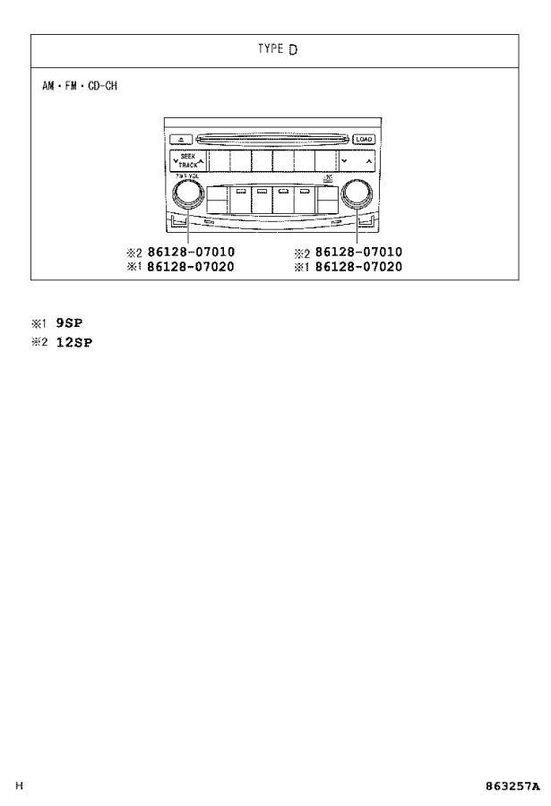 2006 Toyota Avalon Radio Amplifier  Amplifier  Stereo