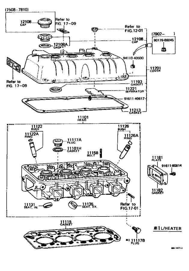Toyota Corolla Ring. Shaft snap (for valve guide bush ...
