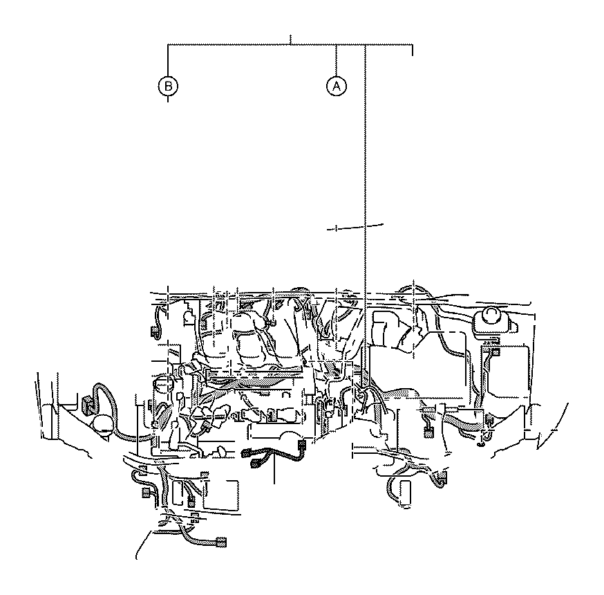 toyota highlander wire  engine  wiring  electrical  clamp