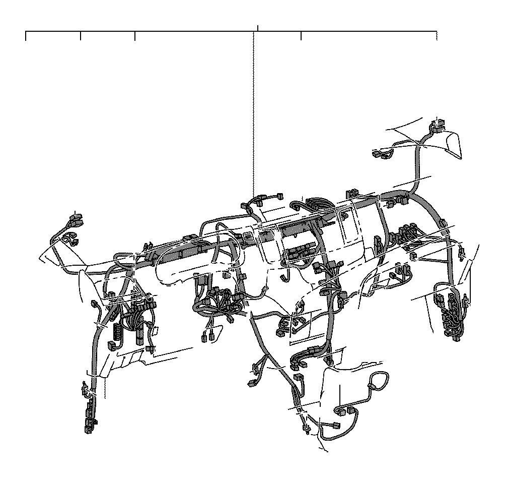 toyota sienna wire  instrument panel  engine  system  room